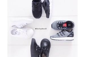Schoenen zwart wit