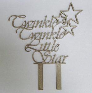 Taarttopper Twinkle Twinkle little star