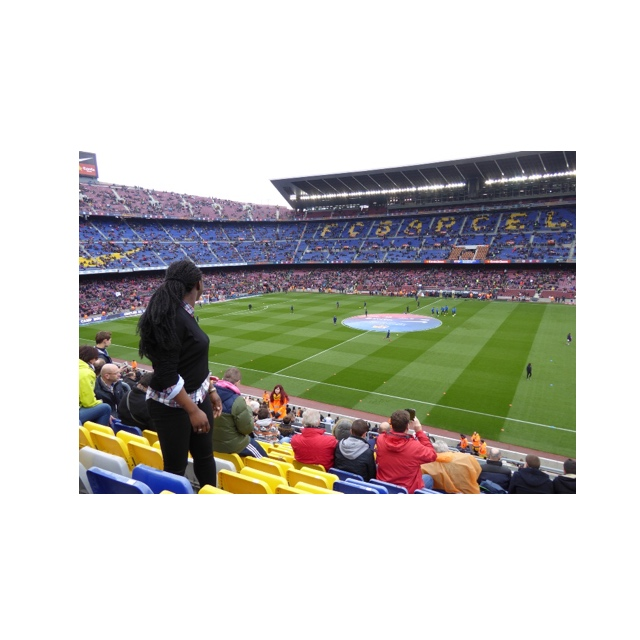 Ik in Camp Nou
