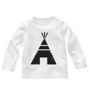 Shirt van Hola Pequeno met Tipi tent