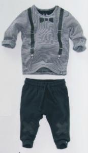 Z8 bretels met strik shirt