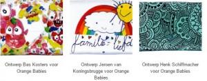 Orange babies ontwerpen
