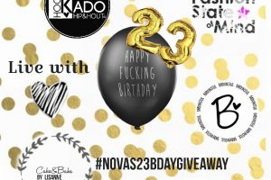 Nova's 23th Birthday giveaway