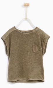 Zara capsule SS17 verwassen linnen tshirt