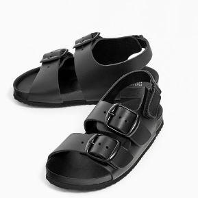 Zara capsule SS17 zwarte sandalen