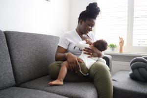 Geen borstvoeding